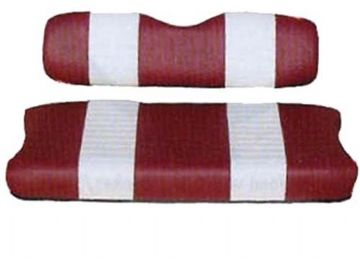 Premium Seat Cushion Set, (Red & White) Various Models *V*